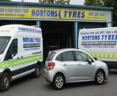 Same Day Tyres Fitted